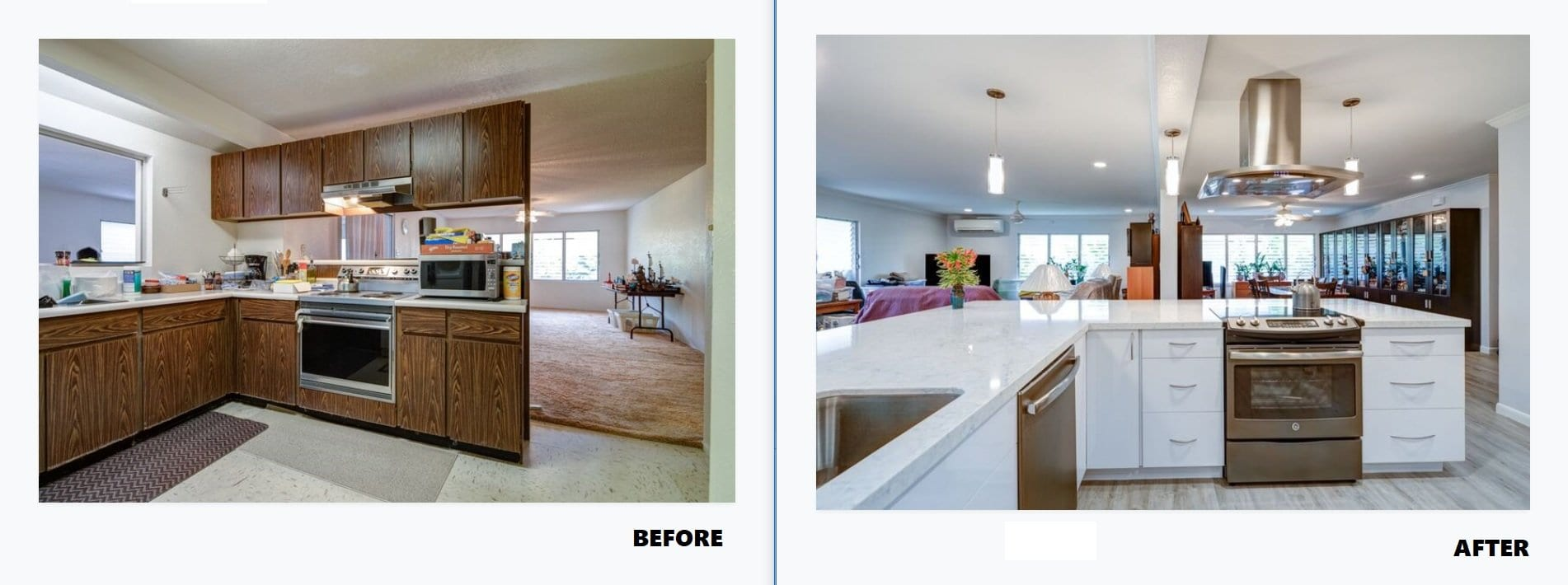 Mililani Makeover Before & After