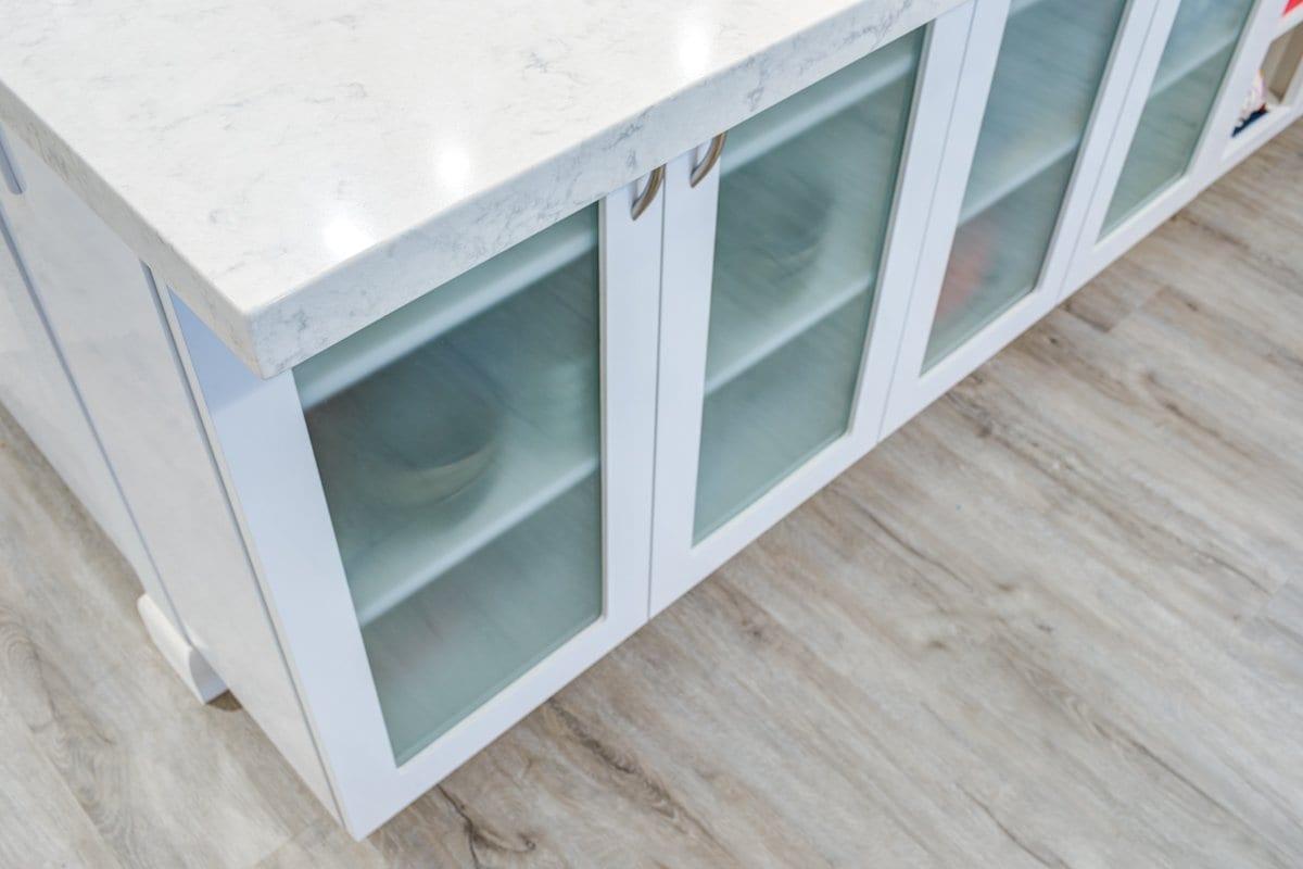 Mililani Makeover - Display Cabinets