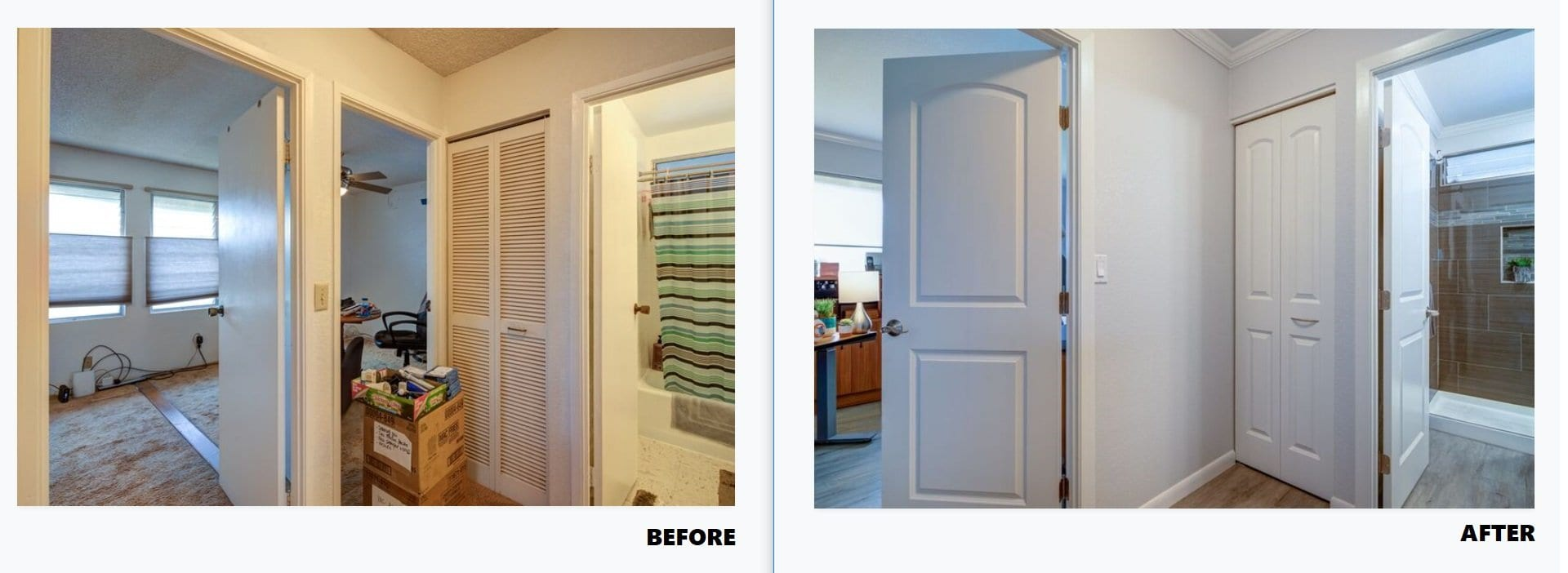 Mililani Makeover - Before & After Bedrooms