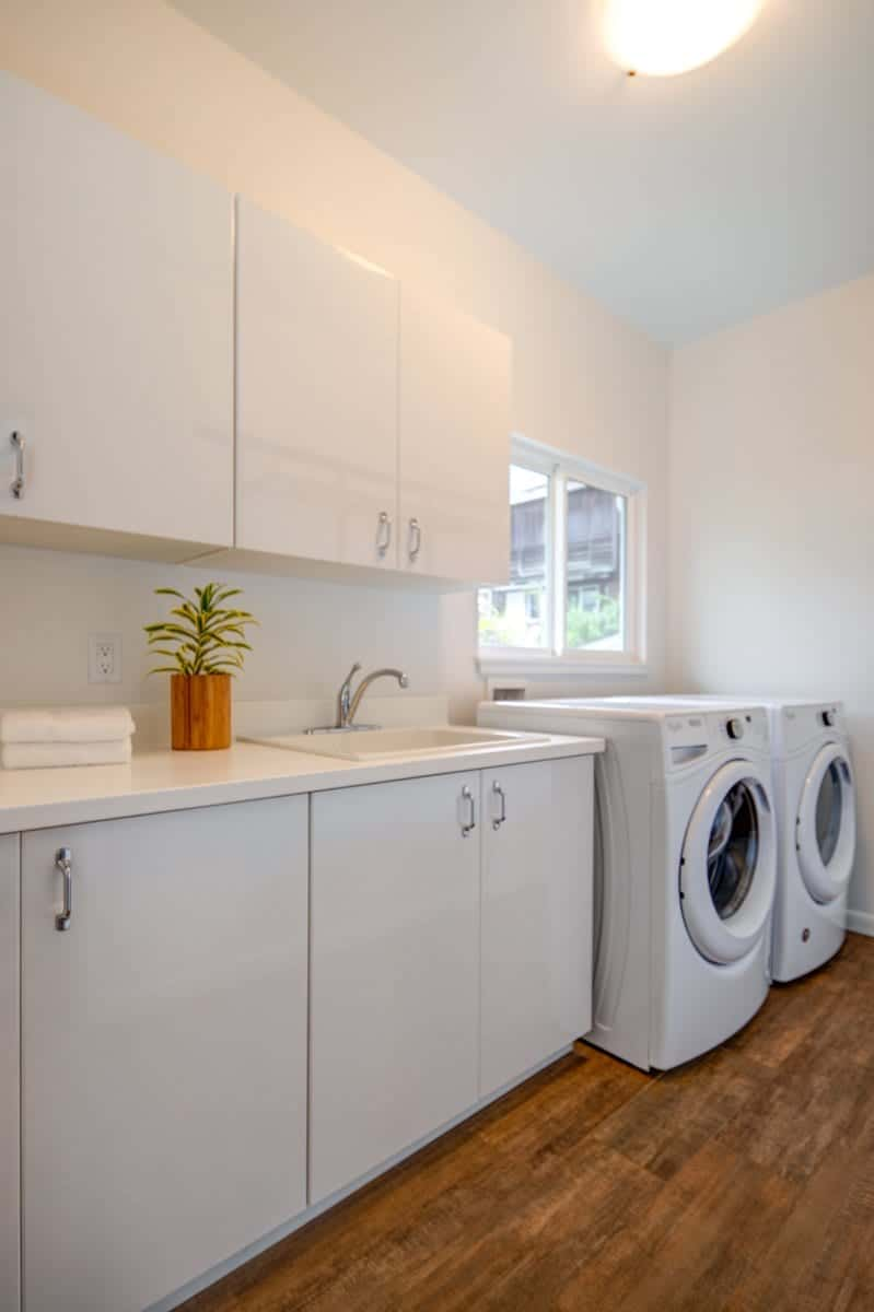 Next Generation's New Home - Laundry Room
