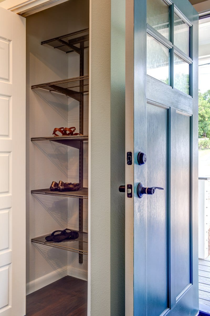 Next Generation's New Home - Shoe Closet