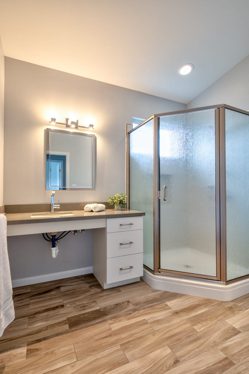 Attractive Accessibility - second bathroom