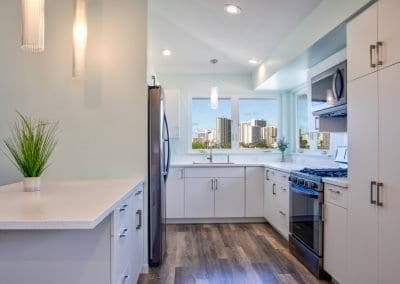 Home in the city - Kitchen with a view