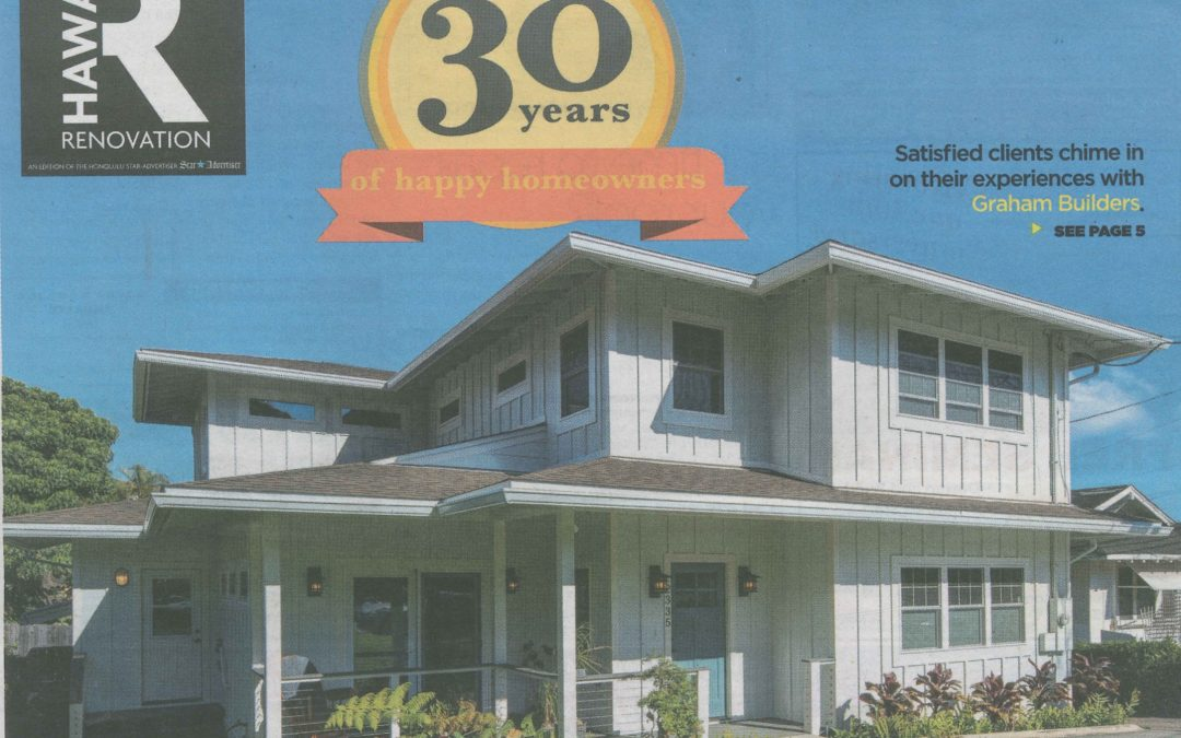 30 years of happy homeowners – Honolulu StarAdvertiser