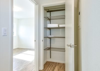 Multigenerational addition gives a nod to the hallway closet.